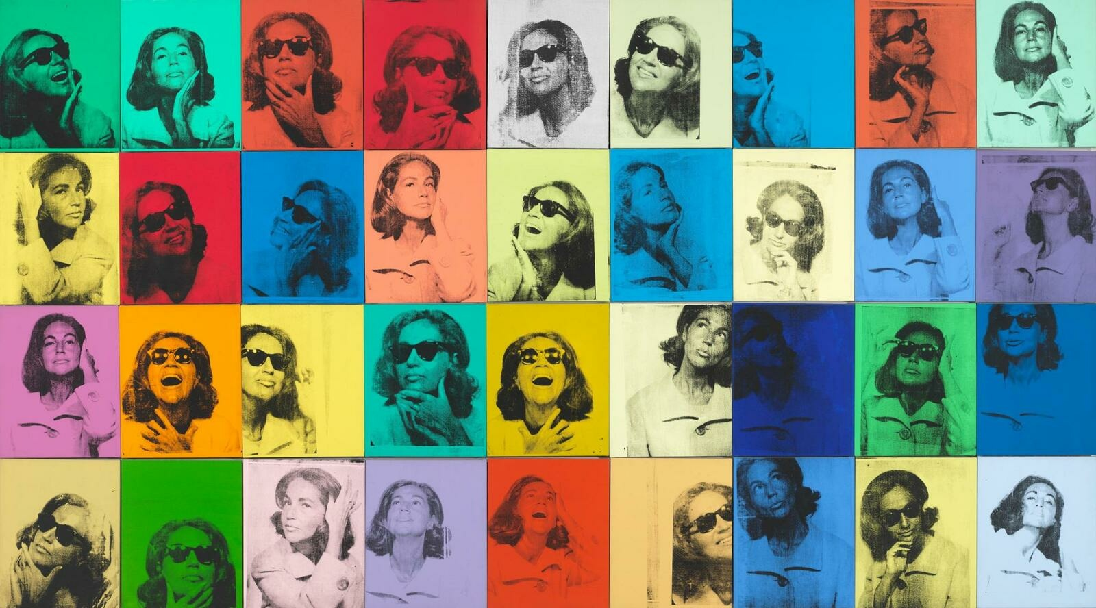 Ethel Scull 36 Times by Andy Warhol